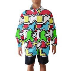 Colorful abtraction Wind Breaker (Kids)