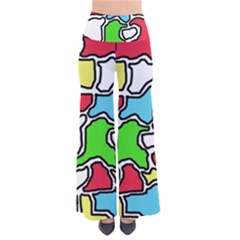 Colorful abtraction Pants
