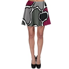Decorative abstraction Skater Skirt