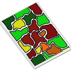Africa abstraction Large Memo Pads