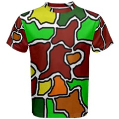 Africa abstraction Men s Cotton Tee