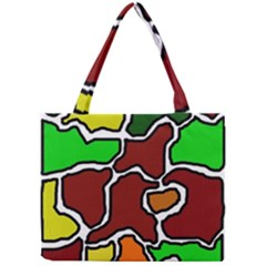 Africa abstraction Mini Tote Bag