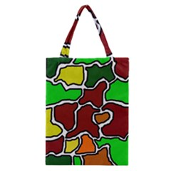 Africa abstraction Classic Tote Bag