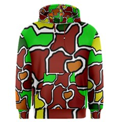 Africa abstraction Men s Pullover Hoodie