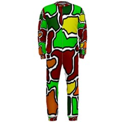 Africa abstraction OnePiece Jumpsuit (Men)