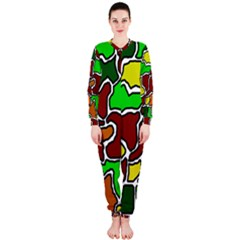 Africa abstraction OnePiece Jumpsuit (Ladies)