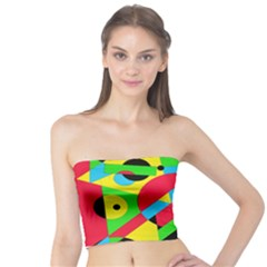 Colorful geometrical abstraction Tube Top