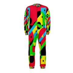 Colorful geometrical abstraction OnePiece Jumpsuit (Kids)