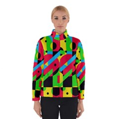 Colorful geometrical abstraction Winterwear