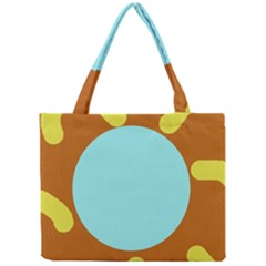 Abstract sun Mini Tote Bag