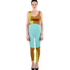 Abstract sun OnePiece Catsuit
