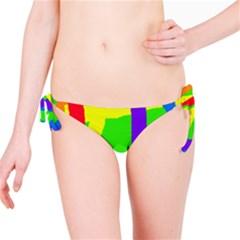 Rainbow abstraction Bikini Bottom