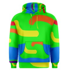 Rainbow abstraction Men s Pullover Hoodie
