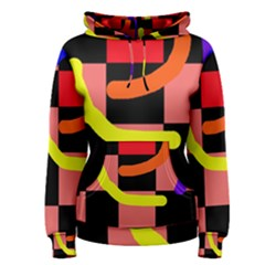 Multicolor Abstraction Women s Pullover Hoodie