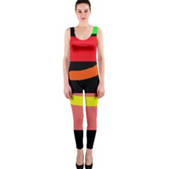 Multicolor abstraction OnePiece Catsuit