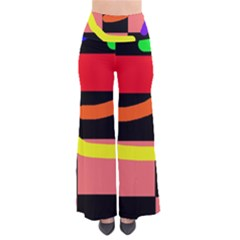 Multicolor abstraction Pants