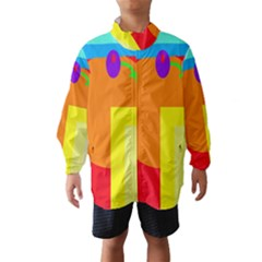 Colorful abstraction Wind Breaker (Kids)