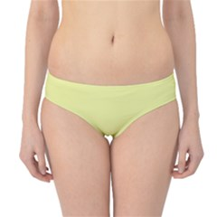 Yellow and blue simple design Hipster Bikini Bottoms