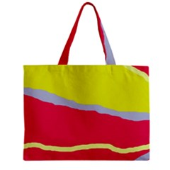 Red and yellow design Mini Tote Bag