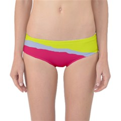 Red and yellow design Classic Bikini Bottoms