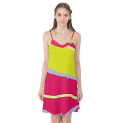 Red and yellow design Camis Nightgown