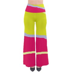 Red And Yellow Design Pants