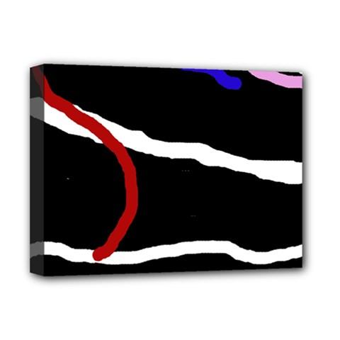 Decorative lines Deluxe Canvas 16  x 12