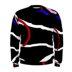 Decorative lines Men s Sweatshirt