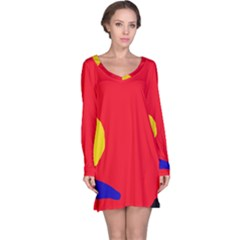 Colorful abstraction Long Sleeve Nightdress