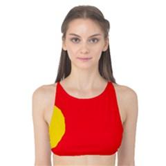 Colorful abstraction Tank Bikini Top