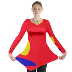 Colorful abstraction Long Sleeve Tunic