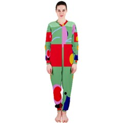 Optimistic abstraction OnePiece Jumpsuit (Ladies)