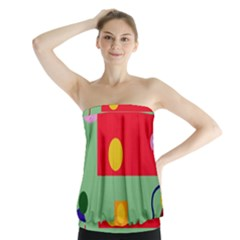 Optimistic abstraction Strapless Top