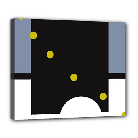 Abstract design Deluxe Canvas 24  x 20