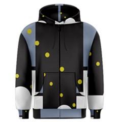 Abstract design Men s Zipper Hoodie
