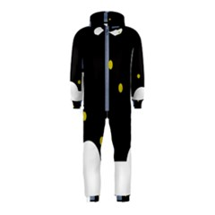 Abstract design Hooded Jumpsuit (Kids)