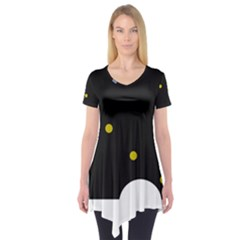 Abstract design Short Sleeve Tunic