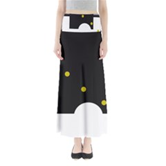Abstract design Maxi Skirts