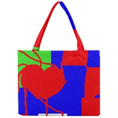 Abstract hart Mini Tote Bag