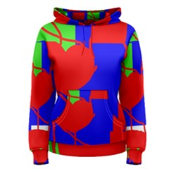 Abstract hart Women s Pullover Hoodie