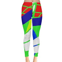 Colorful abstraction Leggings