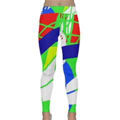 Colorful abstraction Yoga Leggings