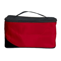Red, black and white abstraction Cosmetic Storage Case