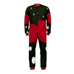 Red, black and white abstraction OnePiece Jumpsuit (Kids)