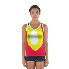 Colorful abstraction Women s Sport Tank Top