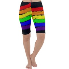 Rainbow Cropped Leggings