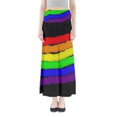 Rainbow Maxi Skirts