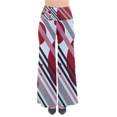 Colorful lines and circles Pants