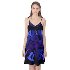 Deep blue abstraction Camis Nightgown