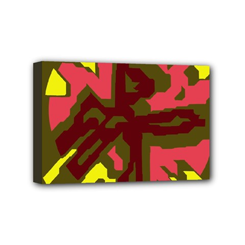 Abstraction Mini Canvas 6  x 4